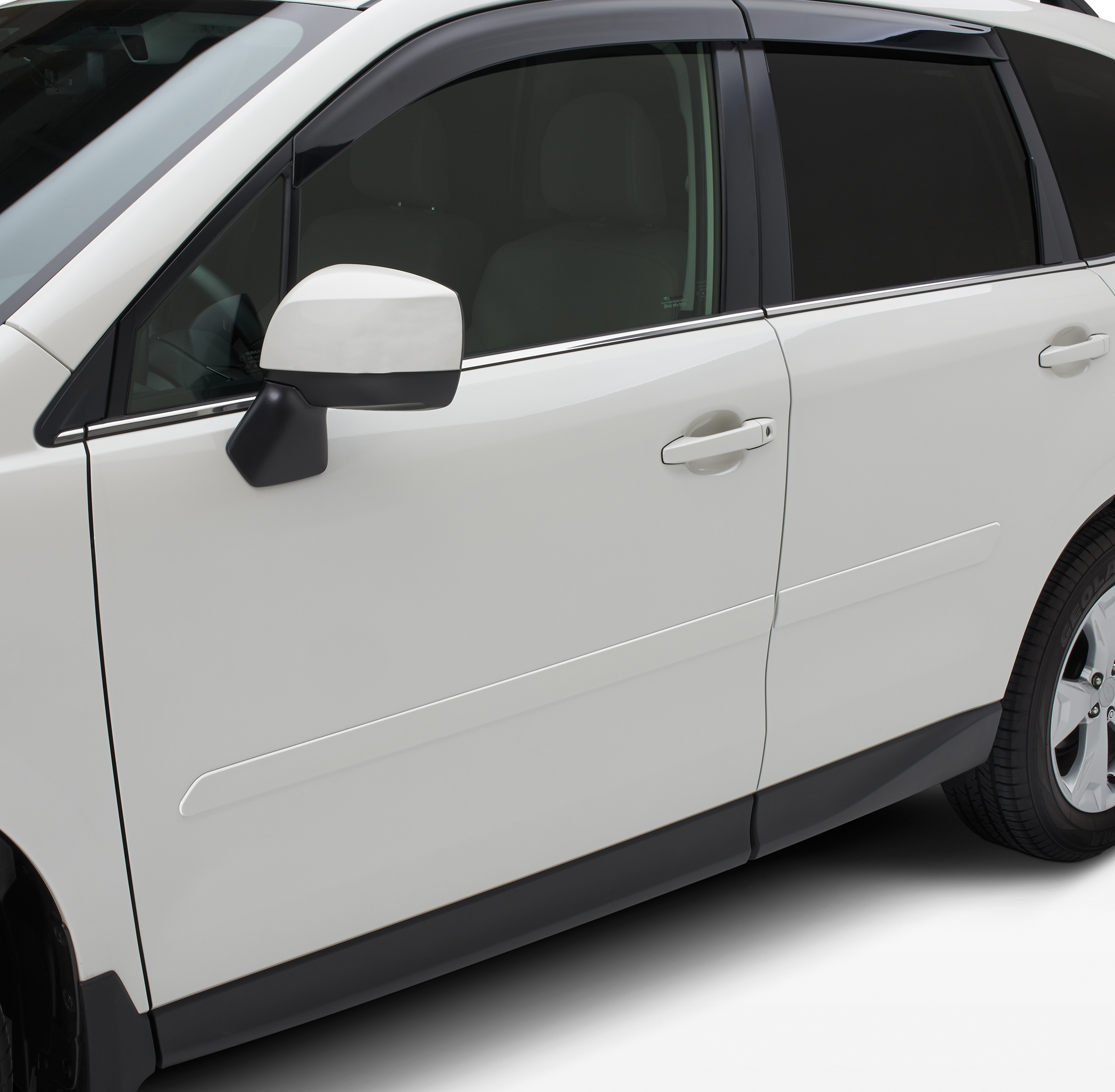 2015 Subaru Forester Body Side Molding Kit. Pearl ...